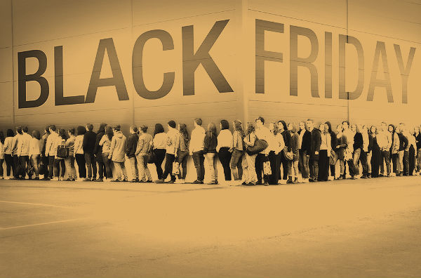 Lo Shopping di Black Friday in America