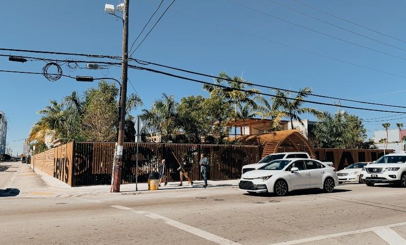 Popup store Levi's a Miami