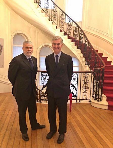 Incontro tra il Console Generale d'Italia a New York Francesco Genuardi e Lucio Miranda Presidente di ExportUSA New York, Corp.