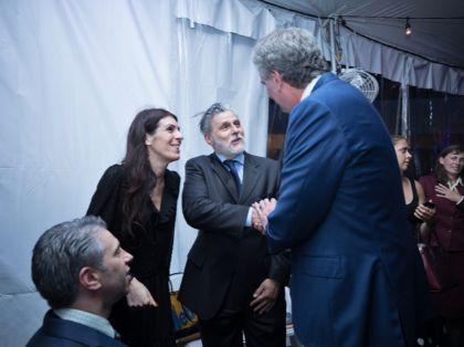 Lucio Miranda Presidente di ExportUSA incontra Bill De Blasio Sindaco di New York