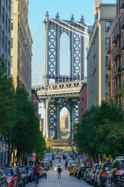 L'area di Dumbo a Brooklyn