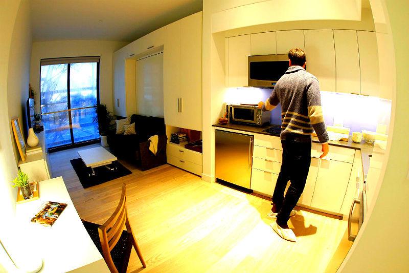 ... 40 Metri Quadrati. Ultime Tendenze Del Mercato Immobiliare Americano